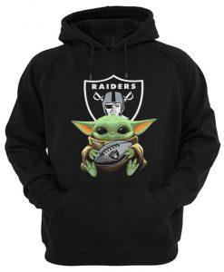 Baby Yoda Raiders Hoodie