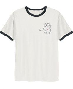 Heart You Ringer T-Shirt