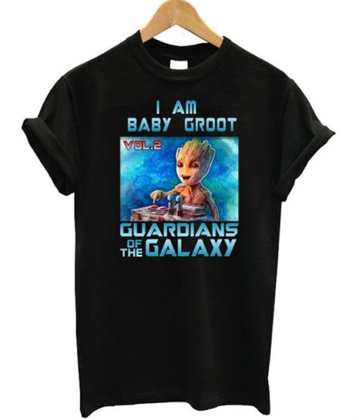 I am Baby Groot Guardians of The Galaxy T-Shirt