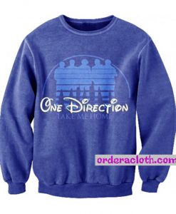One Direction Take Me Home Disney Style Sweatshirt
