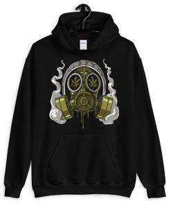 Stoner Gas Mask Hoodie