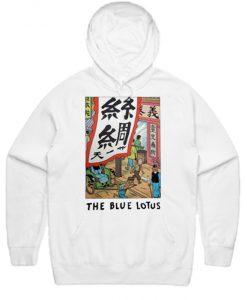 The Blue Lotus Tintin Hoodie