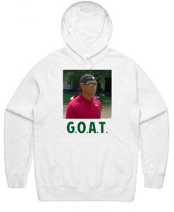 Tiger Woods Goat Hoodie