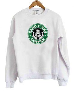Zero Fucks Coffee Sweatshirt