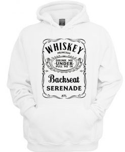 ATL Whiskey Princess Backseat Serenade Hoodie
