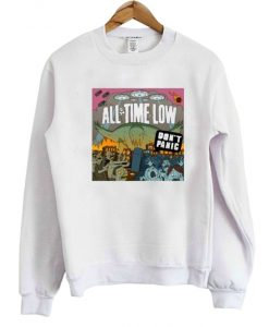 All Time Low Don't Panic Sweatshirt
