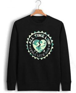 All Time Low Feels Like War Crewneck Sweatshirt