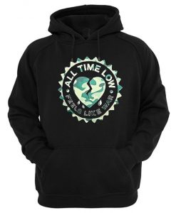 All Time Low Feels Like War Pullover Hoodie