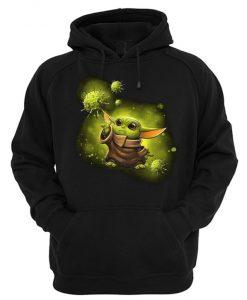 Baby Yoda X Coronavirus Hoodie