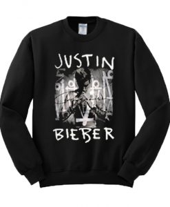 Justin Bieber Purpose Album Cover Sweatshirt