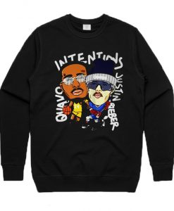 Justin Bieber Quavo Intentions Sweatshirt
