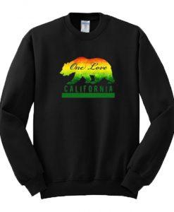 One Love California Sweatshirt