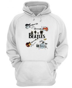 The Beatles Guitars Hoodie