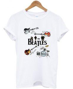 The Beatles Guitars T-shirt