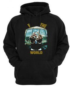 Tupac F The World Hoodie