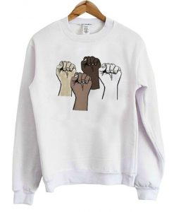 Black Lives Matter Crewneck Sweatshirt